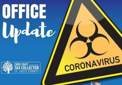 Coronavirus Office Update SLC Tax Collector